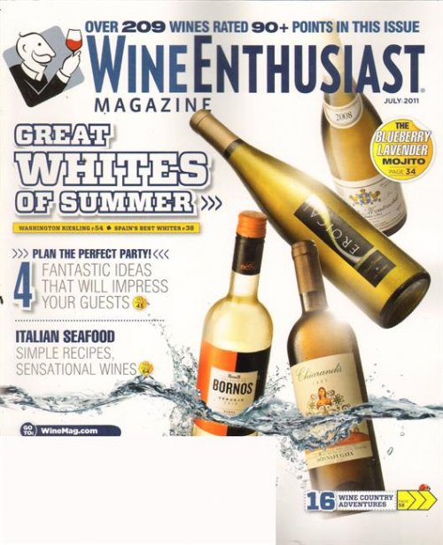 Cover: Wine Spectator, July 2011